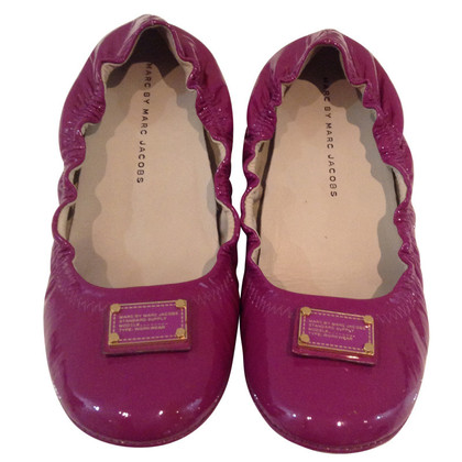 Marc by Marc Jacobs Ballerinas in purple