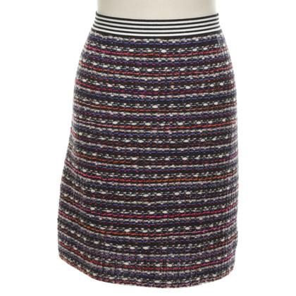 Marc Cain skirt made of bouclé fabric
