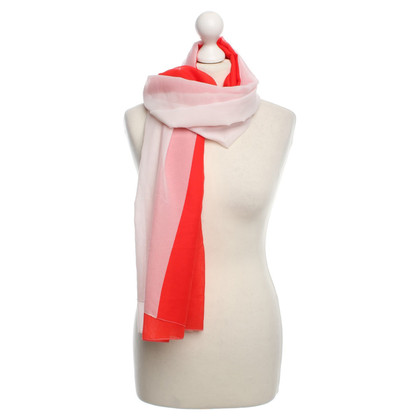 La Perla Sciarpa in rosso/bianco