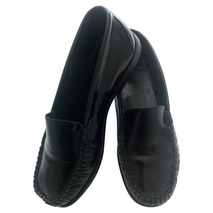 Jil Sander Loafers in zwart