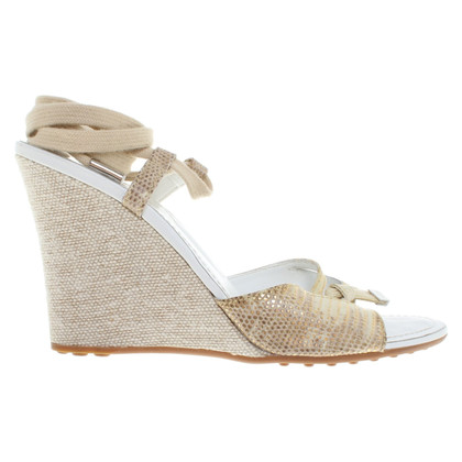 Tod's Wedges en or