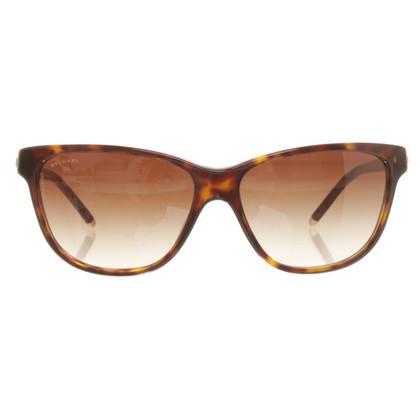 Bulgari Sonnenbrille mit Schmucksteinen
