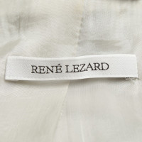 René Lezard Jacket in grey / light blue