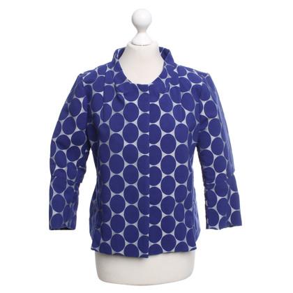 Marni for H&M Jacke in Blau/Hellgrau