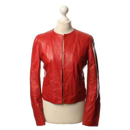 D&G Red leather jacket