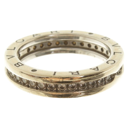Bulgari Ring bezet met diamanten