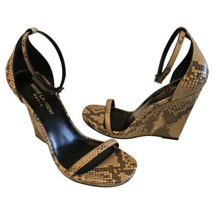 Yves Saint Laurent Sandals with wedge heel