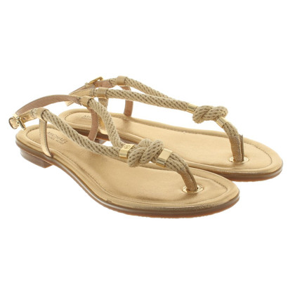 Michael Kors sandali color oro
