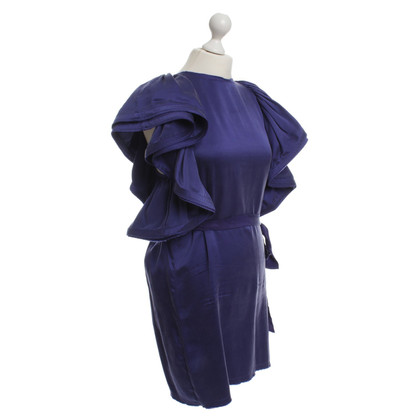 Lanvin for H&M Silk dress in purple