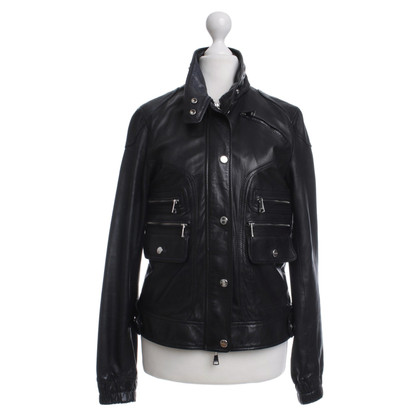 Mabrun Leather jacket in black