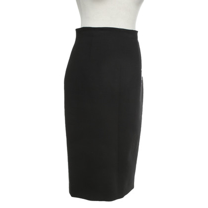 Red Valentino Pencil skirt in black