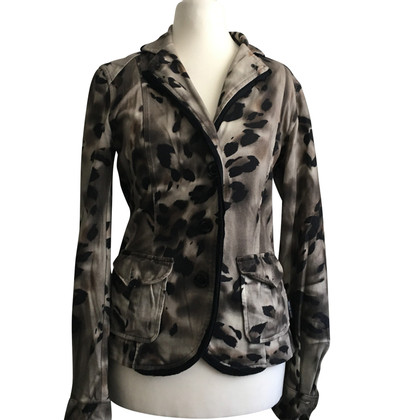 Marc Cain Blazer mit Animal-Print