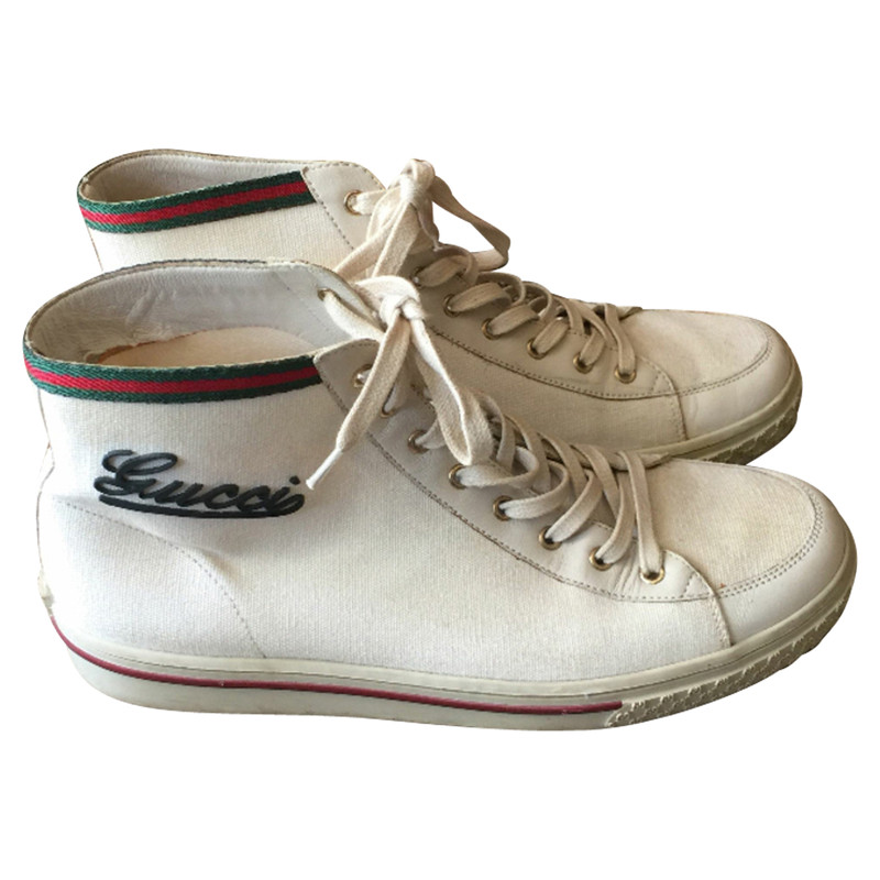 Gucci Boots in White - Second Hand