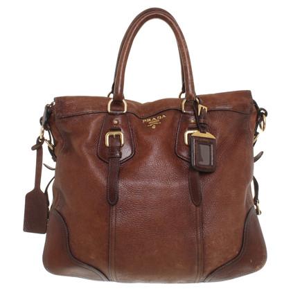 Prada Tote Bag in Braun