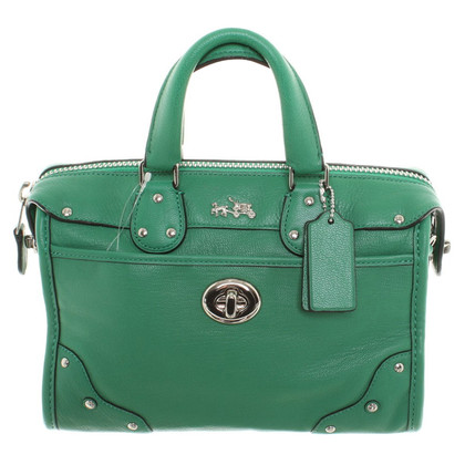 Coach Green purse
