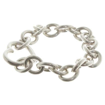 Tiffany & Co. Bracciale in argento con cuore