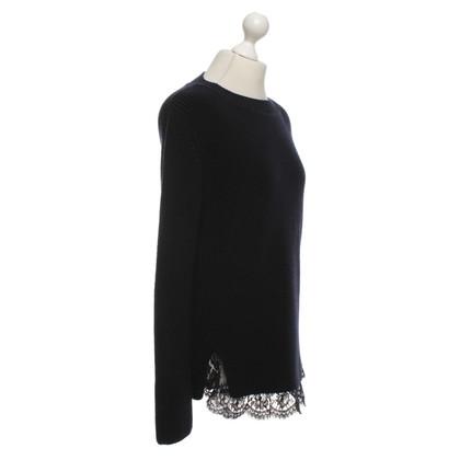 Ermanno Scervino Sweater in dark blue