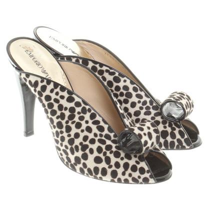 Armani Shoes with Animal-Print