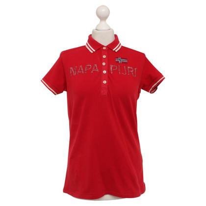 Napapijri Polo in Red