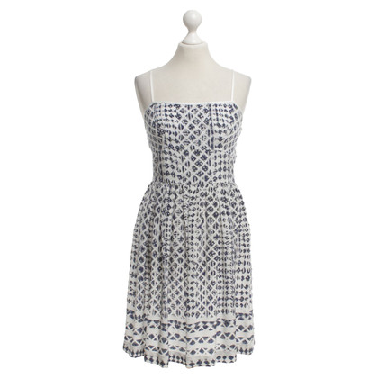 Edun Silk dress with pattern