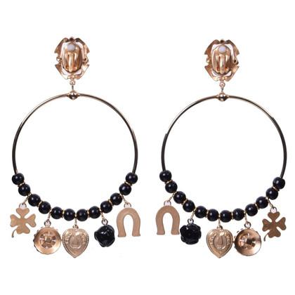 Dolce & Gabbana Orecchini con pietre