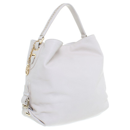Bally Leren shopper beige