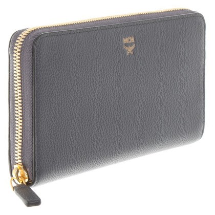"MCM ""Milla Zip Around"" en gris"