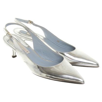Dorothee Schumacher Slingback pumps in argento
