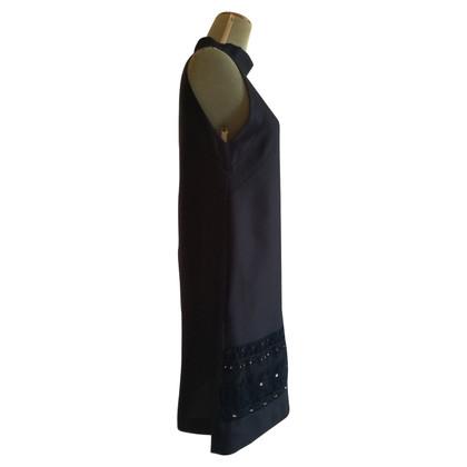 Les Copains Mouwloze jurk in zwart