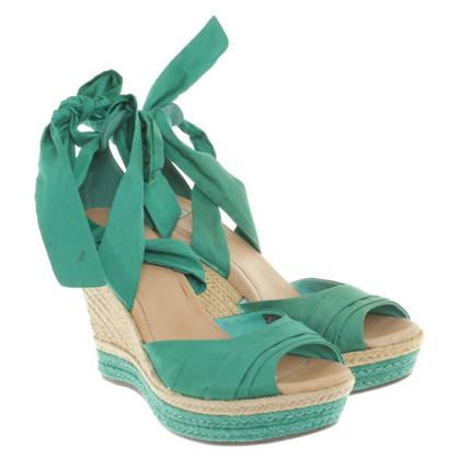 Ugg Grüne Sandaletten