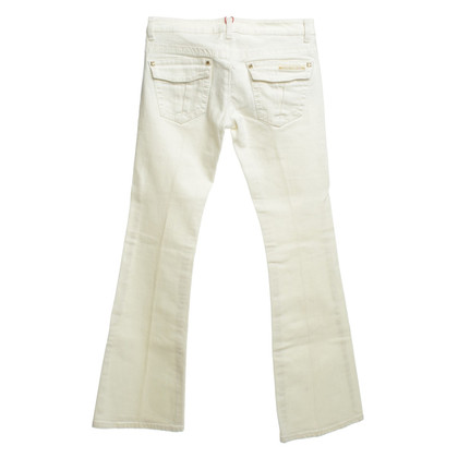 Roberto Cavalli Jeans in crème