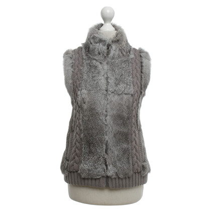 Oakwood Fur Vest in grigio