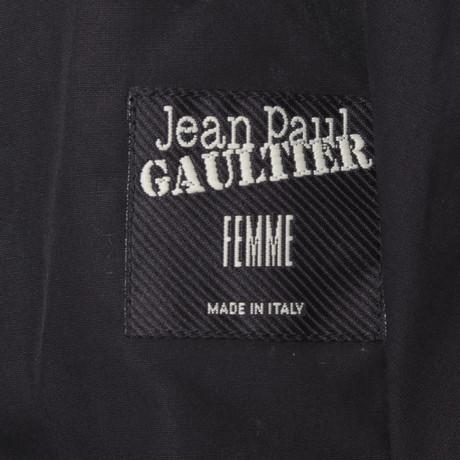 Paul Jean Weste Weste in Schwarz Schwarz Gaultier Gaultier Jean Paul qHwHxftEA