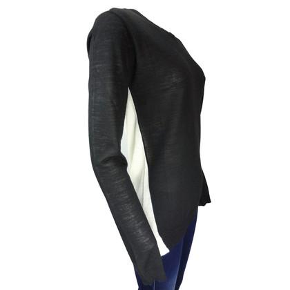 Costume National trui zwart wit