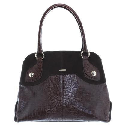 Max Mara Handbag in reptile finish