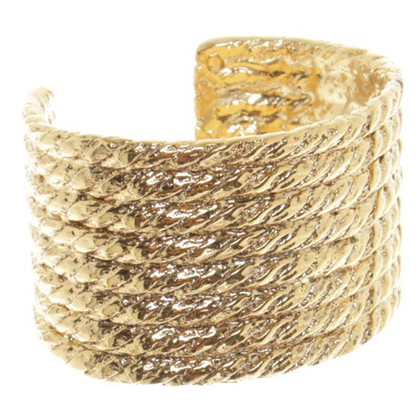 Yves Saint Laurent Wide Bangle Bracelet