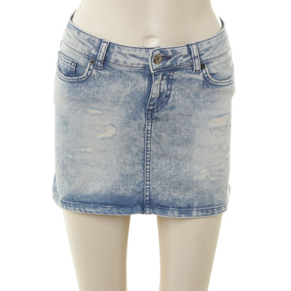 D&G Mini rok in lichtblauw