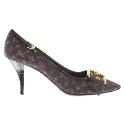 Louis Vuitton pumps van Monogram Mini Lin