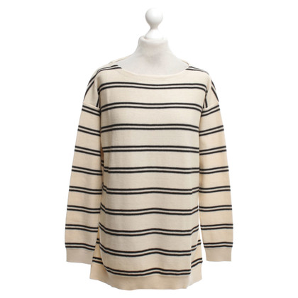 Closed Pullover in Creme/Schwarz