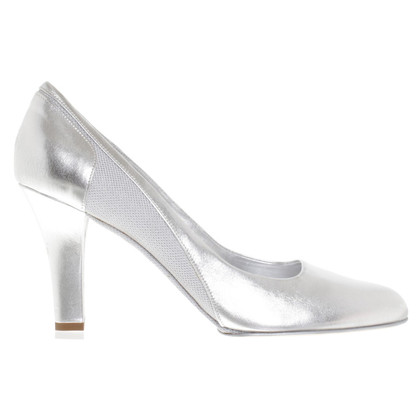 Narciso Rodriguez pumps in silver