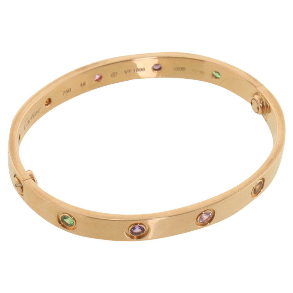 cartier love bracelet second hand cartier love. Black Bedroom Furniture Sets. Home Design Ideas