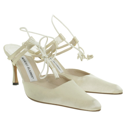 Manolo Blahnik Pumps with ankle straps