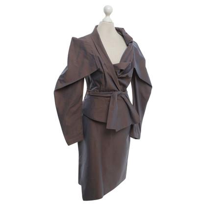Vivienne Westwood Changierendes Kostüm