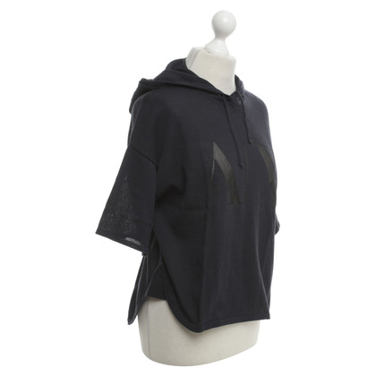 Armani top in dark blue
