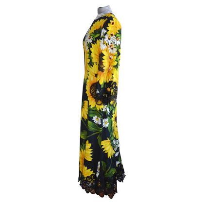 Dolce & Gabbana Sunflower Dress