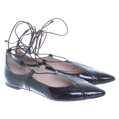 Tory Burch Ballerina's lace-up