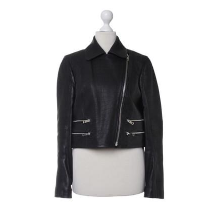 Rag & Bone Leather jacket in black