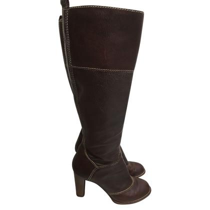 Dolce & Gabbana Braune Stiefel