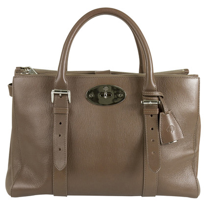 "Mulberry ""Bayswater Double Zip Leather Satchel"""