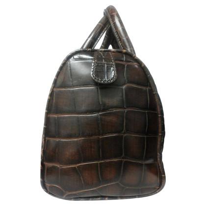 Coccinelle Crocodile leather handbag